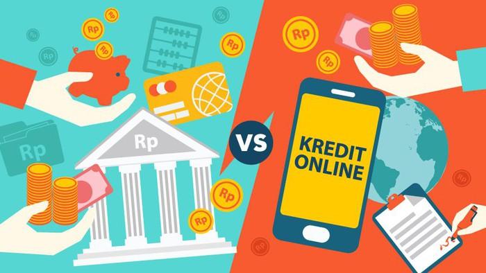 Ilustrasi Nadia Permatasari - detikcom, detikfinance - balada Pinjaman Online