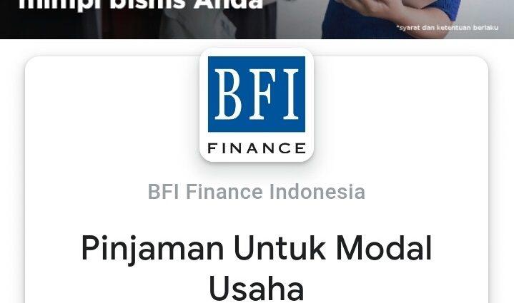 Banner Iklan - BFI Finance - Google - Yandex - Bing - Yahoo