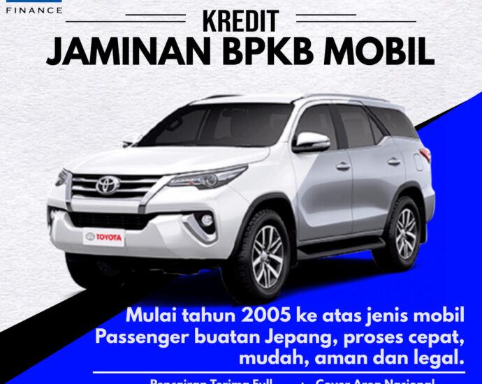 BANNER IKLAN PINJAMAN KREDIT JAMINAN BPKB MOBIL BFI FINANCE