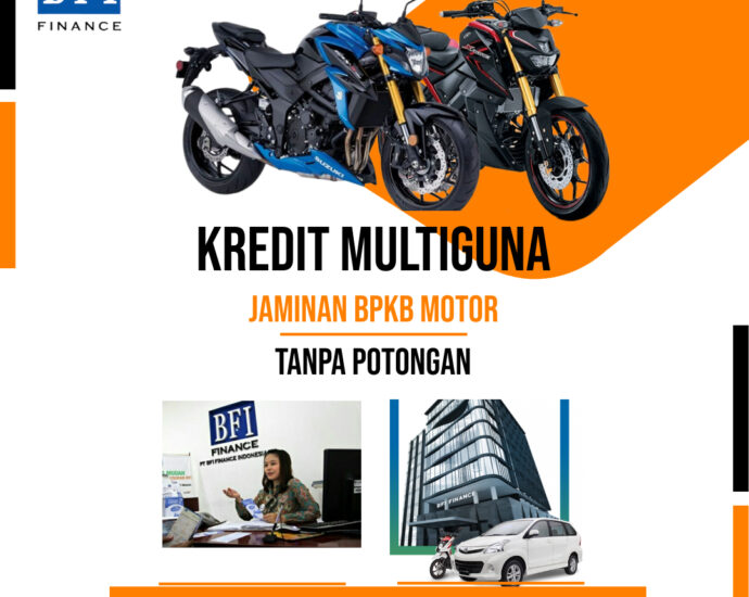 KREDIT JAMINAN BPKB MOTOR TAHUN 2010 KE ATAS PROSES CEPAT MUDAH AMAN TANPA POTONGAN